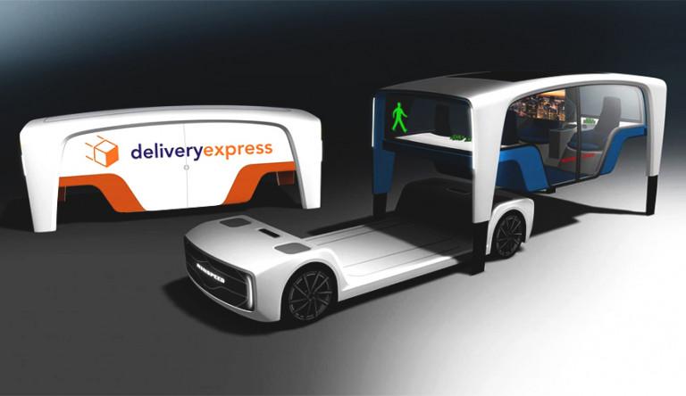 Концепт Snap Mobility с возможностью смены кузова
