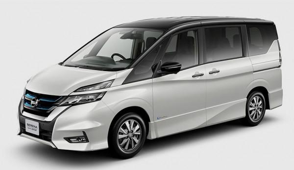 Минивэн Nissan Serena с новой гибридной установкой