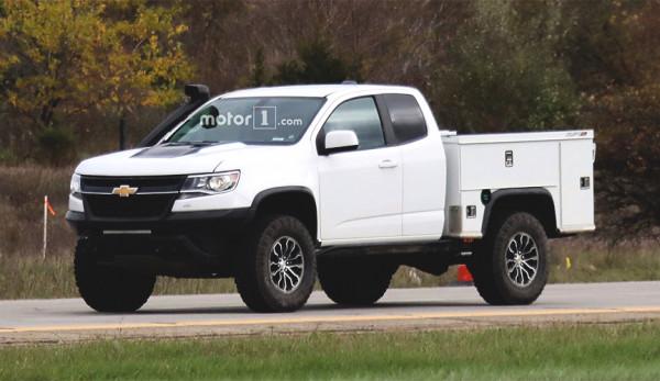 Компания Chevrolet тестирует грузовой пикап Colorado ZR2
