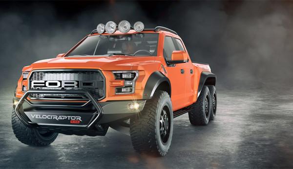 Компания Hennessey представит трёхосный пикап на базе Ford F-150 Raptor