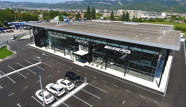 Новый автосалон «Р-Моторс» - звезда Mercedes-Benz в Новороссийске