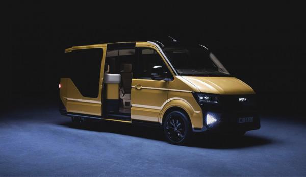 Компания Volkswagen представила электрический минивэн для райдшеринга
