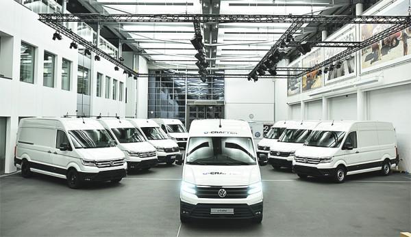Новые фургоны Volkswagen e-Crafter уже переданы первым клиентам