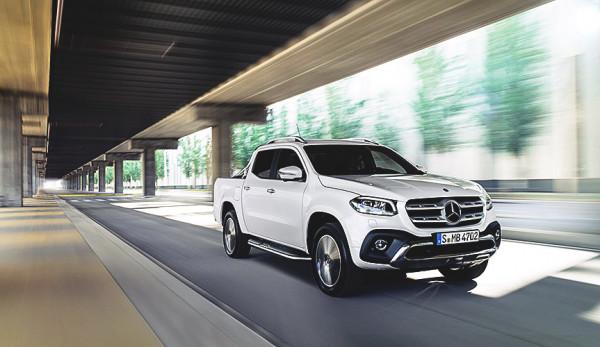 Компания Mercedes-Benz установила целевой объём продаж пикапа X-Class в 2018 году