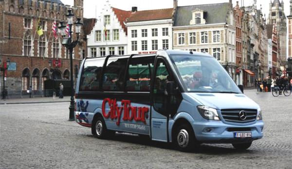 В Бельгии курсирует трансформирующийся экскурсионный микроавтобус Mercedes-Benz Sprinter