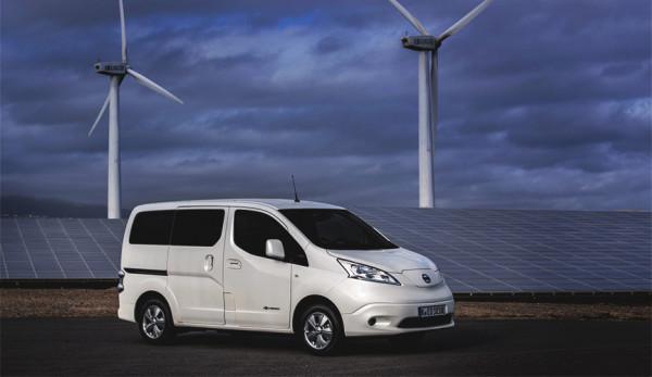 Обновленный фургон Nissan e-NV200 теперь проезжает на 60% больше
