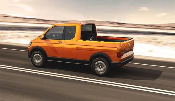 Уникальный пикап Volkswagen Tristar, который так и не пошел в серию