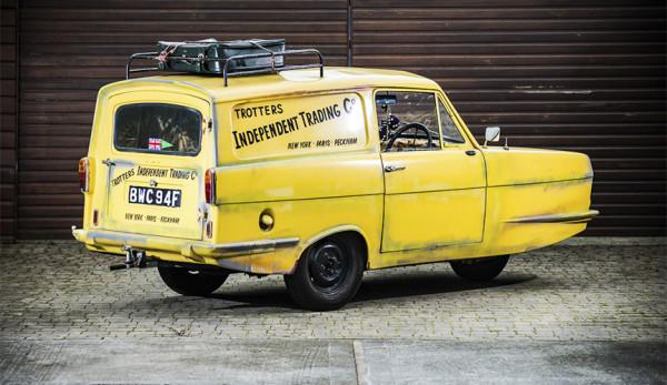 Reliant Regal Supervan III — трицикл из Стаффордшира с кузовом фургона