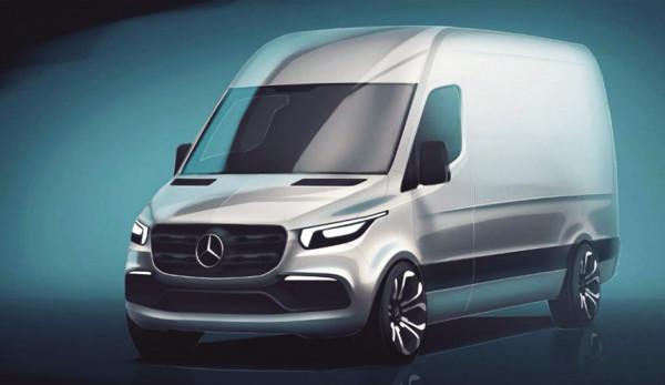 Новый Mercedes-Benz Sprinter 2019: первое официальное видео