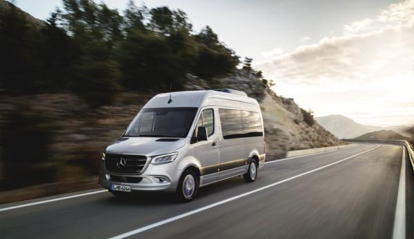 Официальная презентация Mercedes-Benz Sprinter 2018 (видео)