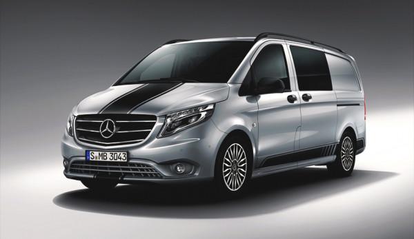 Mercedes-Benz Vito получил спортивный пакет