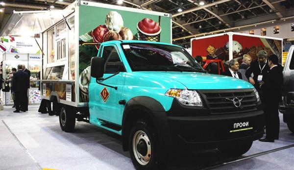 УАЗ представил автолавку и авторефрижератор на базе УАЗ «Профи»