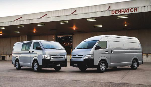 Toyota прекратила поставки микроавтобусов Hiace на российский рынок