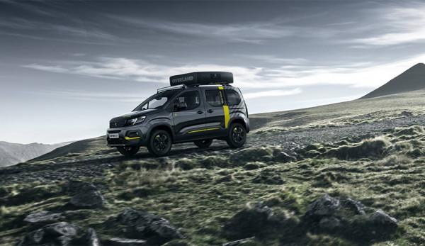 Компания Peugeot представляет полноприводную спецверсию нового фургона Rifter