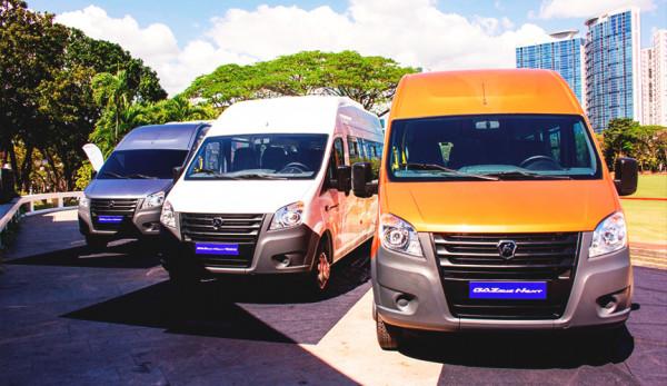 Продажи микроавтобусов «ГАЗель NEXT» стартовали на Филиппинах