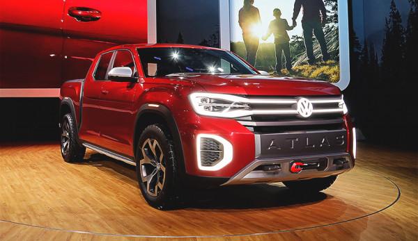 Volkswagen представил новый пикап Atlas Tanoak