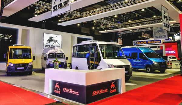 «Группа ГАЗ» представила линейку коммерческой техники на международной выставке на Филиппинах