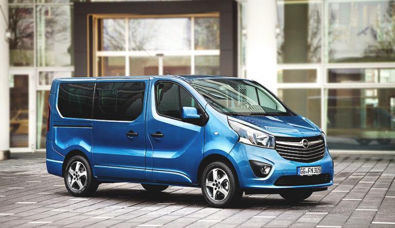 Opel Vivaro получит новую платформу концерна PSA Group