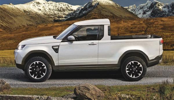 Новый пикап Land Rover бросит вызов Mercedes X-Class