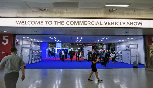 Выставка коммерческого транспорта Commercial Vehicle Show Birmingham-2018