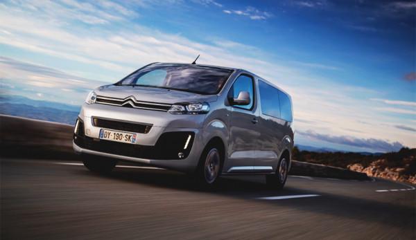 Группа PSA объявляет о старте производства и начале продаж Citroën Spacetourer и Peugeot Traveller