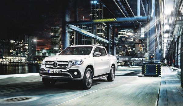 Пикап Mercedes-Benz X-Class прошёл испытание на устойчивость (видео)