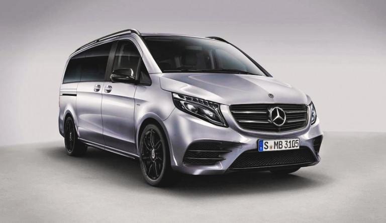 Автомобиль Mercedes-Benz V-Class получил новые обновления