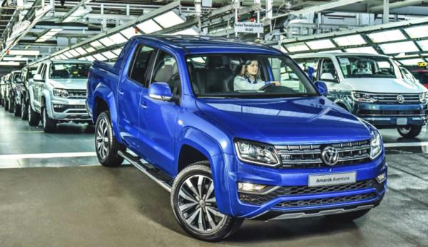 Самая мощная версия пикапа Volkswagen Amarok сошла с конвейера