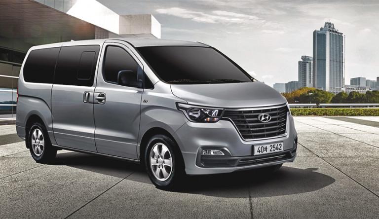 На российском рынке начнёт продаваться обновлённый Hyundai H-1
