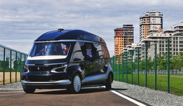 В Казане продемонстрировали первый беспилотный электробус от ПАО «КАМАЗ»