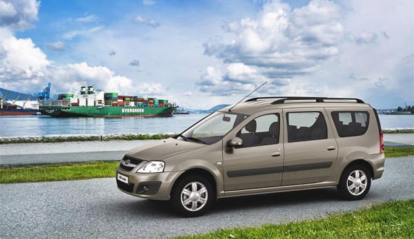 Продажи фургонов Lada Largus в мае
