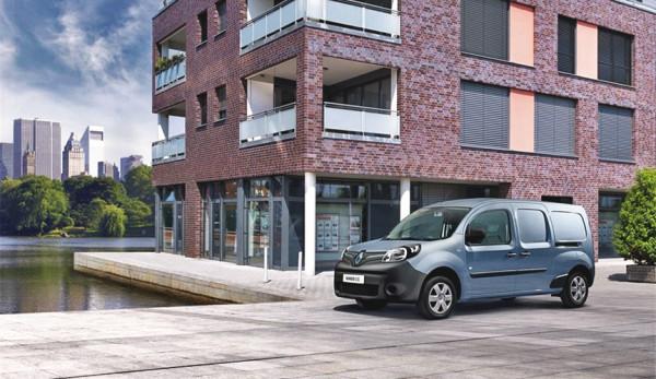 Renault Россия представляет новый электрический грузопассажирский фургон Renault KANGOO Z.E. 33