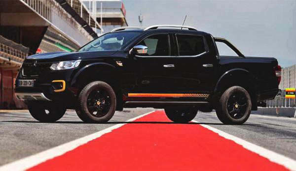 Renault создал спортивную версию пикапа Alaskan
