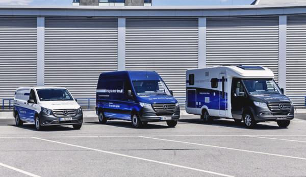 Новые электрофургоны от компании Mercedes-Benz Vans