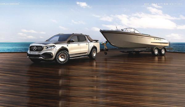Пикап Mercedes-Benz X-Class представили в эксклюзивном исполнении