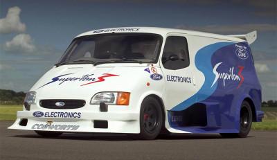 Гоночные фургоны от компании Ford