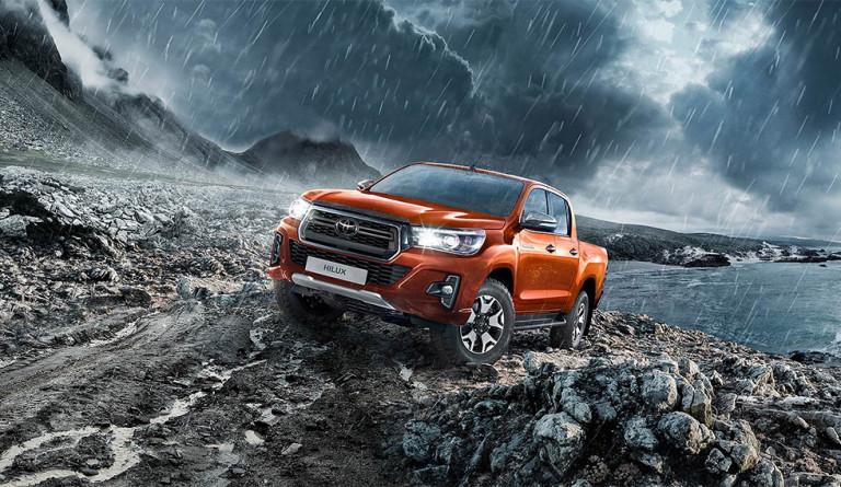 Пикап Toyota Hilux получил новую специальную серию Exclusive