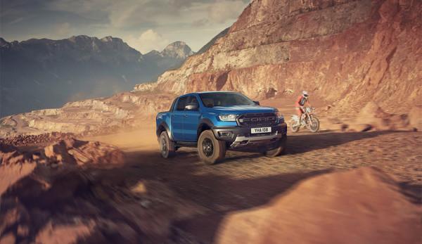 Новый Ford Ranger Raptor: премьера на Gamescom
