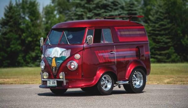 Необычный Volkswagen Microbus «Shorty» уйдёт с молотка
