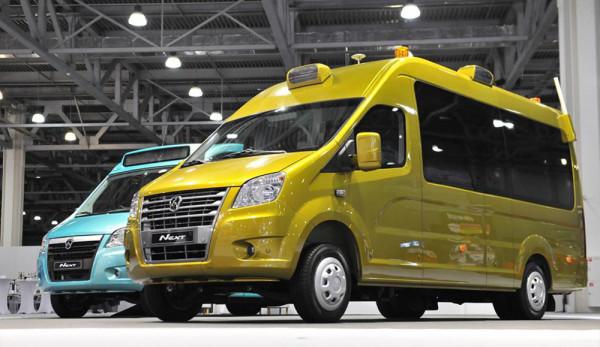 ГАЗ представил опытные образцы беспилотных автомобилей