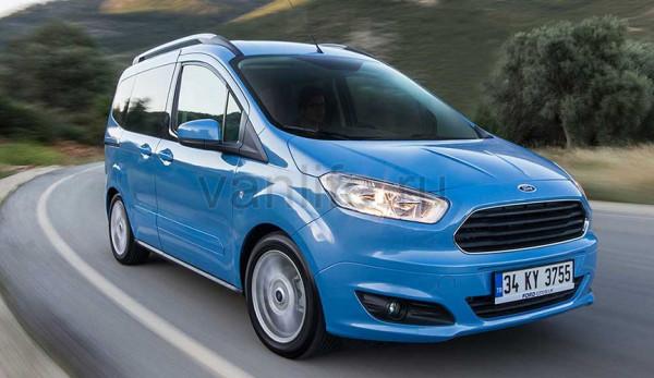 Технические характеристики Ford Transit Courier