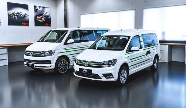 ABT Sportsline представил электромобили e-Caddy и e-Transporter