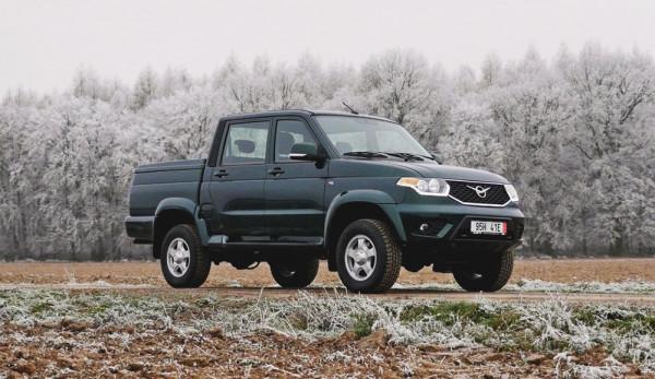 Обновленный УАЗ «Пикап» поступил в продажу