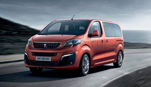 Автопроизводители опубликовали информацию о «Peugeot Traveller»