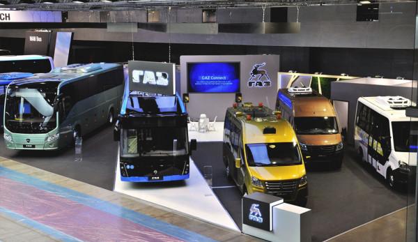 «Группа ГАЗ» представляет новые транспортные средства на выставке Busworld-2018