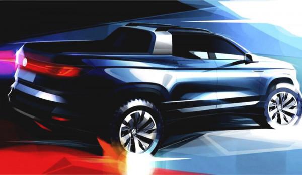 Volkswagen выпустил первый тизер «городского пикапа»
