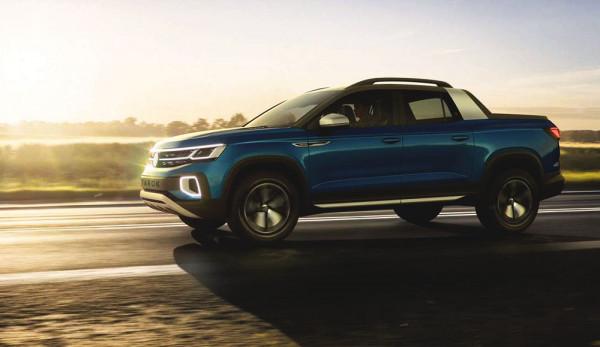 Volkswagen представил концепт пикапа Tarok