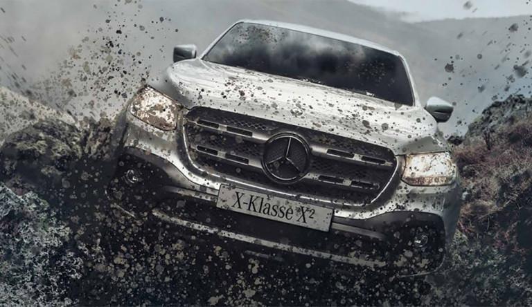 Новая спецверсия пикапа Mercedes-Benz X-Class для бездорожья
