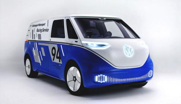 На автосалоне в Лос-Анджелесе дебютирует грузовая версия Volkswagen I.D. BUZZ