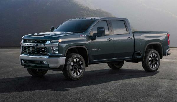Новый Chevrolet Silverado HD получит сверхтяговитый мотор